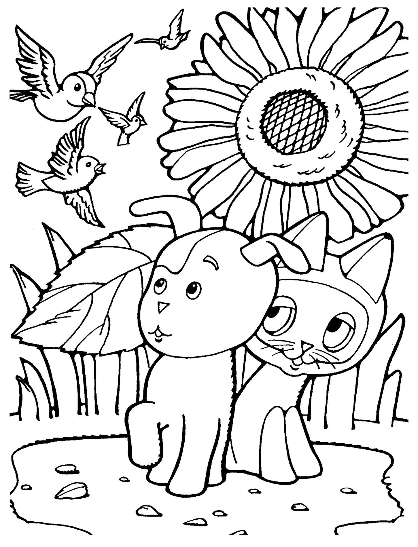 Розмальовки для дітей з Радянського мультфільму