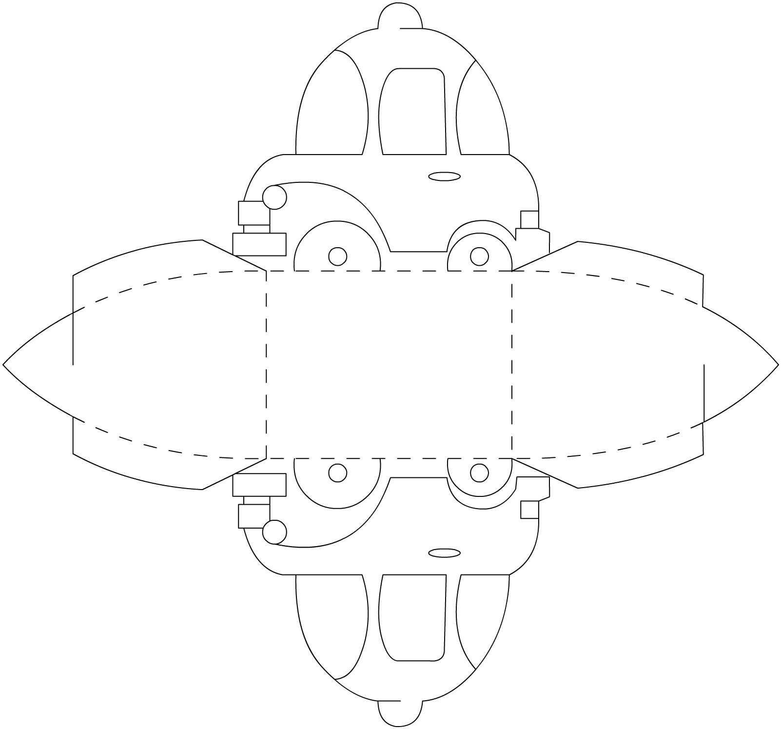 Эскизы поделки из бумаги