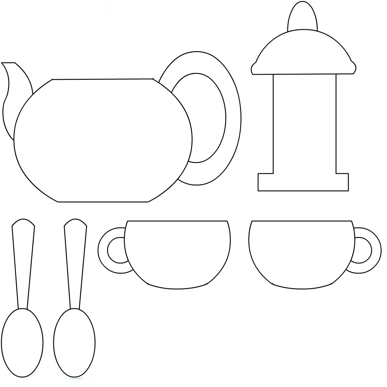 Картинка чайника для детей